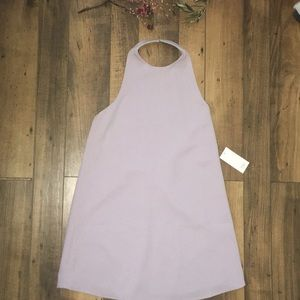 Light purple mini dress
